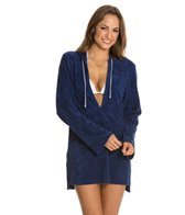 Splendid Hamptons Terry Hooded Cover Up Tunic