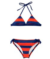 Splendid Girls' Marcel Stripe Triangle Hipster Bottom Set (7-14)