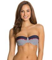 Nautica Leeward Underwire Bandeau Bikini Top
