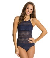 Nautica Grand Isle Crossback One Piece Swimsuit