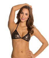 Luxe by Lisa Vogel Sport Triangle Bikini Top