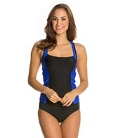 Luxe by Lisa Vogel On Your Mark Active Tankini Top