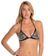 Luxe by Lisa Vogel Mirror Image Triangle Bikini Top