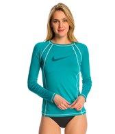 Nike Women's Hydro UV Solid L/S Rashguard