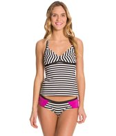 Nike Beach Optic Pop Crossback Tankini Top
