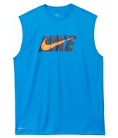 Nike Men's Hydro UV Eclipse Logo Sleeveless Rashguard