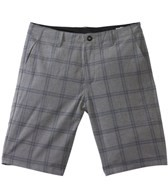 Volcom Men's Frickin Static Plaid Hybrid Walkshort Boardshort