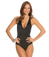 Peixoto Malaka Crossback One Piece Swimsuit