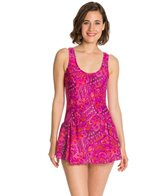 Maxine Ethnic Twist Swimdress