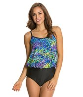 Maxine Garden Blouson One Piece Swimsuit