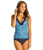 Maxine Ikat Forever Shirred Side One Piece Swimsuit