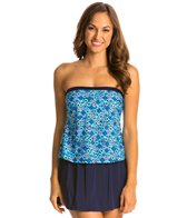 Maxine Ikat Forever Faux Bandeau Skirtini One Piece