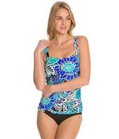 Maxine SwimwearBali Floral Underwire Bandeau Bikini Top