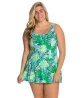 Maxine Plus Tropical Breeze Swimdress