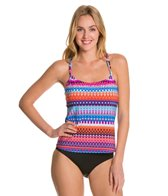 24th & Ocean Savanna Racerback Tankini Top