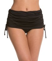 24th & Ocean Solid Rouched Swim Skirt