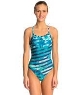 Arena Citrus One Piece Swimsuit Light Drop Back