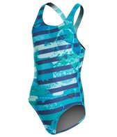 Arena Citrus Jr One Piece SwimsuitSwim Pro Back