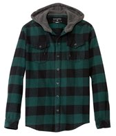 Billabong Men's Tatanka Long Sleeve Hooded Flannel