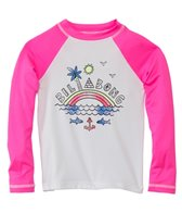 Billabong Girls' Rainbow Spot L/S Rashguard (4-14)