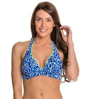 Beach Diva Global Dance Underwire Halter Top