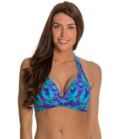 Beach Diva Diamond Days Molded Halter Top