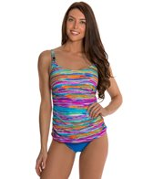 Maidenform Beach Wave Runner Underwire D/DD/E Tankini Top