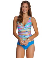 Maidenform Beach Wave Runner One Piece Swimsuit