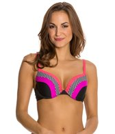 Maidenform Beach Little Star Underwire Bra Bikini Top