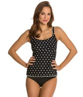 Maidenform Beach Hot Dot Underwire D/DD/E Tankini Top