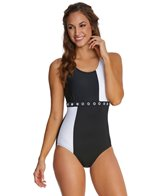 Maidenform Beach Hot Dot One Piece Swimsuit