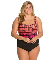 TYR Fitness Bondi Beach Aqua Controlfit Plus Size One Piece