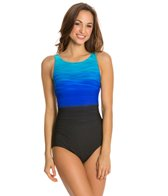 Reebok Fitness Heat Wave U-Back One Piece