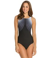 Reebok Fitness Shimmering Seas U-Back One Piece