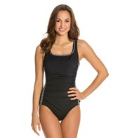 Reebok Fitness Nautical Knots U-Back One Piece