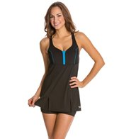 Speedo Endurance+ Swim Dress w/ Built-In Compression Short