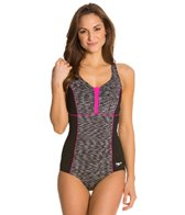 Speedo Fitness Space Dye Racerback One Piece