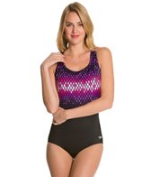 Speedo Fitness Diamond Ombre Ultraback One Piece