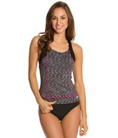 Speedo Fitness Space Dye Ultraback Tankini Top