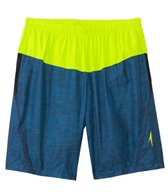 Speedo Fitness Texture HydroVolley Short w/ Compression Jammer