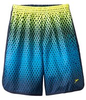 Speedo Fitness Diamond Blend HydroVolley Short w/ Compression Jammer