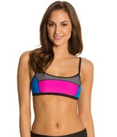 Speedo Heather Color Blocked Top
