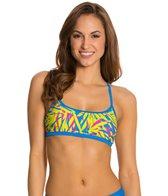 Speedo Active Print Skinny Back Swimsuit Top