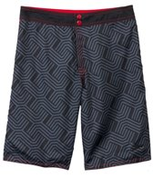 Speedo Men's Linear Links Reversible Boardshort