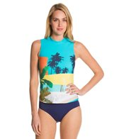 Seafolly Poolside Rashguard Tank Top