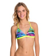 Speedo Flipturns Rainbow Weave Tie Back Top