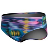Speedo Flipturns Rainbow Weave Brief Swimsuit