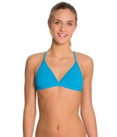 Speedo Flipturns Endurance Lite Solid Triangle Tie Back Top
