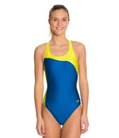 Speedo Boom Splice Super Pro Back One Piece Swimsuit