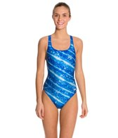 Speedo Pro LT Twinkly Drop Back One Piece Swimsuit